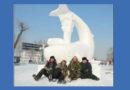 На Конкурсе ледовых и снежных скульптур