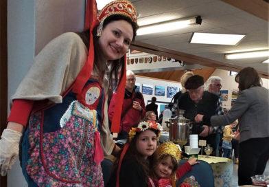 На пятнадцатом фестивале Русской Культуры в Веллингтоне
